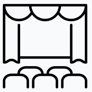 Scène podium
